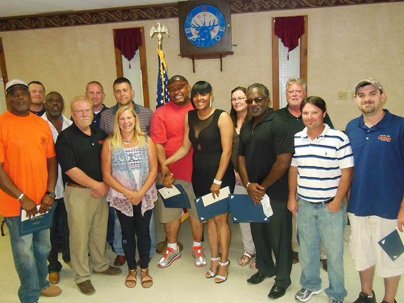 Local 100 | 2015 Apprentice Graduation