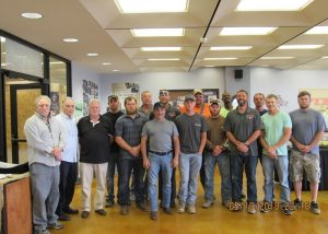 Group photo of SWIL District Laborers' Local